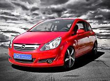 JMS Racelook Frontspoilerlippe für Opel Corsa D bis Facelift ohne OPC