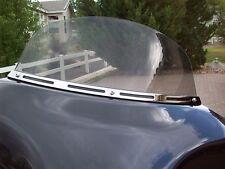Harley FLHX FLHTC Touring Chrome 4 Slot Windshield Trim - Yrs 1996-2013