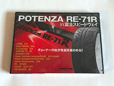 POTENZA RE-71R in FUJI SPEEDWAY JAPAN DVD 2015 NTSC ND Roadster HSR86 NEW