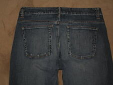 DKNY Size 10R Boot Cut Dark Blue Stretch Denim Womens Jeans