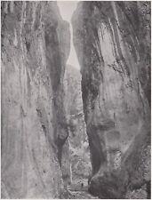 D5748 Val di Susa - L'Orrido di Chianoc - Stampa d'epoca - 1932 vintage print