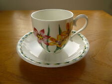 Portmeirion Ladies Garden Coffee/Tea Cup and Saucer ex cond