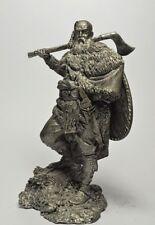 Tin soldier, miniature. German Warrior, 2nd century AD 75 mm