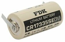 3V FDK (Sanyo) CR17335SE 2/3 A Lithium Batterie U-Lötfahne   1800mAh