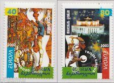 2002 Georgië 397a-398a Europa CEPT - Het Circus