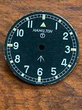Hamilton W10 Military NOS Dial