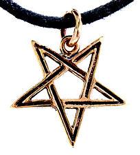 Nº 27 pentagrama pentagrama Satán Lucifer magia bronce bruja