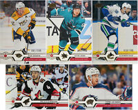 U-Pick 2019-20 Upper Deck Series One & Two UD Exclusives parallels SER# /100