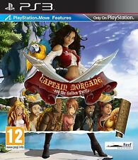 * PLAYSTATION 3 NEW SEALED GAME * CAPTAIN MORGANE AND THE GOLDEN TURTLE * PS3