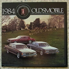 OLDSMOBILE USA LF le vendite di automobili brochure 1984 98 Regency Delta 88 Royale TORONADO +