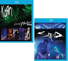 Korn - Live At Montreux 2004 (Blu-ray Disc, 2008) NEW