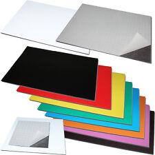 Magnetfolie Magnetband Zuschnitt Selbstklebend 3M oder farblich PVC-beschichtet