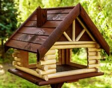 Exclusive Large Wooden Bird Table  House Bird Feeder & Feeding House