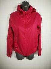 WOMENS UNIQLO HOT PINK ZIP UP HOODED LIGHTWEIGHT COAT JACKET XS EXTRA SMALL
