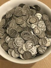 Lot Of (200) Mercury Silver Dimes. 90% Silver Coins. 4 Full Rolls