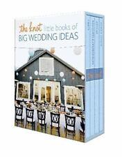 The Knot Little Books of Big Wedding Ideas: Cakes; Bouquets & Centerpieces; Vow