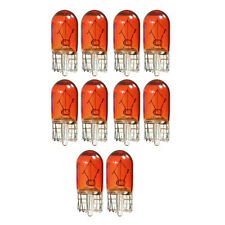 10PC 12V 3W T10 501 W5W Amber Car Instrument Panel Lights DashBoard Gauge `Bulbs