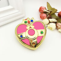 US!Sailor Moon Moonlight Memory Series Heart Mirror Case Cosmetic Make Up Mirror