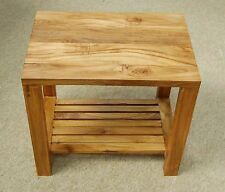 Teak Less than 30 cm No Assembly Required Side & End Tables