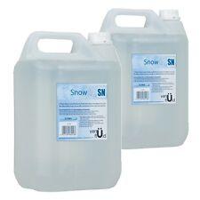 2x 5L Bottle Of Venu SN Snow Foam Fluid High Quality Disco Party Liquid Juice