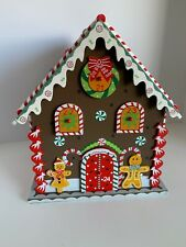 HearthSong Wooden Gingerbread House Countdown to Christmas Advent Calendar