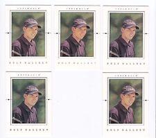 2001 Upper Deck SERGIO GARCIA Golf Gallery Insert #GG2--5 card lot!