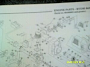 Ryobi Gas String Trimmer 840r, 865r, 885r, 920r,960r, 970r,990r,975r Parts List