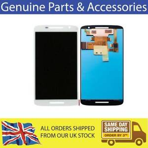FOR MOTOROLA MOTO X PLAY LCD WITH TOUCHSCREEN DIGITIZER WHITE REPLACEMENT SCREEN