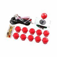 Zero Delay USB Encoder to PC Games Arcade Games DIY Parts Kit for Rapsberry pi