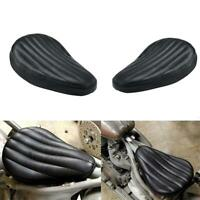 Black Motorcycle Solo Seat For Harley Sportster XL883 Bobber Chopper