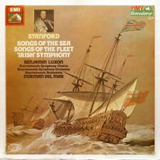 BENJAMIN LUXON, DEL MAR - STANFORD Songs of the Sea, Irish Symphony EMI 2xLPs NM
