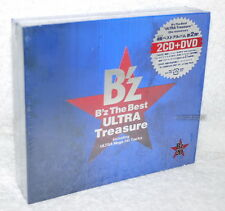 B'Z (BZ) The Best ULTRA Treasure Japan Ltd 2-CD+DVD (Digipak)