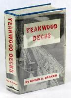 Signed Limited Edition Teakwood Decks Chris Barker USS Colorado in WW II HC DJ