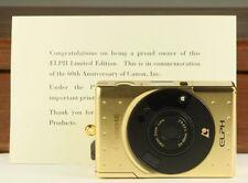 Rare limited Edition ELPH Canon APS in Collectors Box