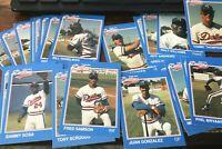 1989 GRAND SLAM Tulsa Drillers 26 card Set MiLB M- /bet Juan Gonzalez Sammy Sosa