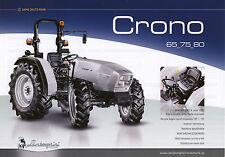 Lamborghini Crono 06 / 2011 catalogue brochure tracteur schlepper tractor
