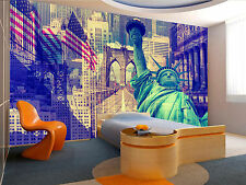 Collage-New York Wall Mural Photo Wallpaper GIANT DECOR Paper Poster Free Paste