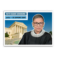 Ruth Bader Ginsburg RBG 1950s Style Supreme Court Collectible Trading Card