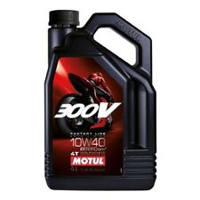 MOTUL 300V 4T COMPETITION SYNTHETIC OIL 10W-40 4-LITER