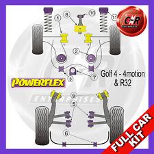 VW Golf Mk4 4Motion (1997 - 2004) Powerflex Completo Kit Boccole