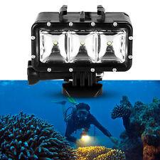 30M Wasserdicht Tauchen LED Video Licht für Gopro Hero 4/3+/3/2 SJCAM Sj4000 DE