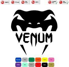 Venum Iron On T-Shirt Clothes Heat Transfer Vinyl Sticker/Decal 85mm