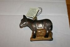 Old World Christmas Donkey Glass Ornament Gentle Patience 2009