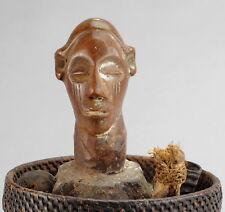 Panier divination reliquaire HOLO no Yaka magical divination basket ANGOLA CONGO