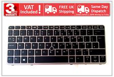HP Elitebook 820 G1 G2 720 725 UK Backlit Silver Keyboard 735502-031 762585-031