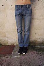 """DIESEL FEMME VINTAGE """"Cardiel"""" Jeans Bleu Denim Coupe Droite W28 L30 UK10 LOOK!"""
