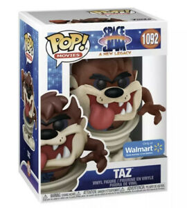 Funko Pop! Space Jam New Legacy Taz Figure #1092 FLOCKED Preorder CONFIRMED July