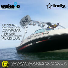 INDY LIQUID PRO 2 Wakeboard tower ANODIZED 5 YEAR WARRANTY boat * SALE was £949
