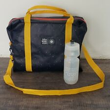 Brand New 2015 Seawheeze Lululemon Reusable Packet Pickup Bag & Water Bottle