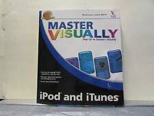 Master Visually iPod and iTunes Paperback complete with Apple CD